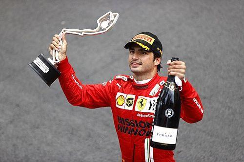 Sainz uratował Ferrari