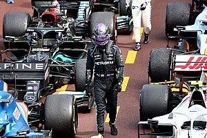 """F1: Hamilton diz estar grato """"por dias ruins"""" como em Mônaco"""