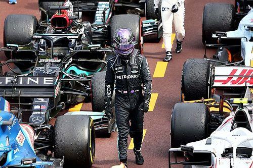 Hamilton ignoró a su equipo al final del GP de Mónaco