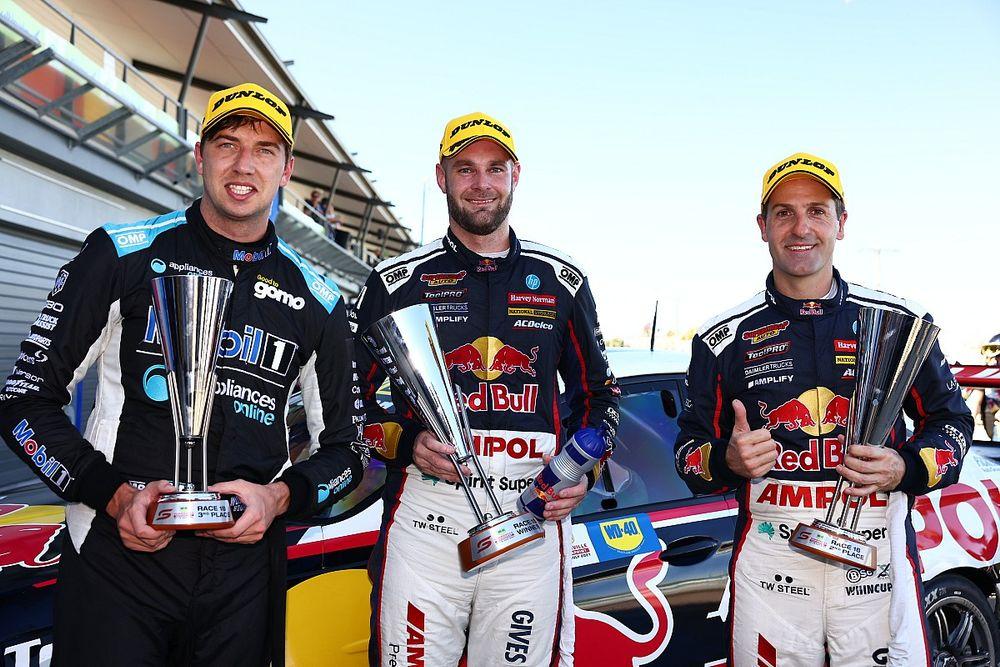 Townsville Supercars: Van Gisbergen wins all-Triple Eight thriller