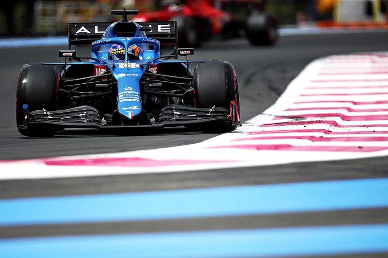 Alonso prend goût à la Q3, Ocon recalé