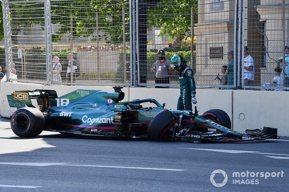 F1 braking focus behind the Baku Crash Festival - Autobala