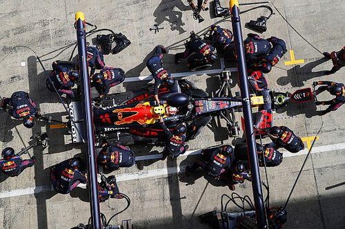 La explicación de Red Bull al fallo en la parada de Pérez en Estiria