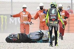 Rossi lamenta la oportunidad perdida de una gran carrera