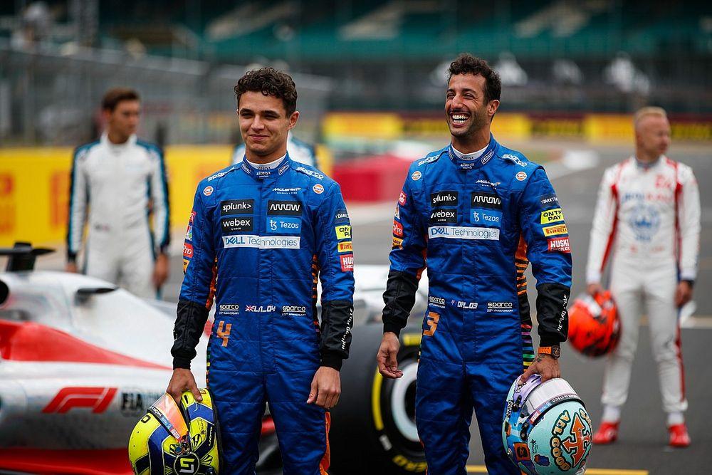 """Norris: """"Sainz'ın Ricciardo ile benzer seviyede olduğunu biliyordum"""""""