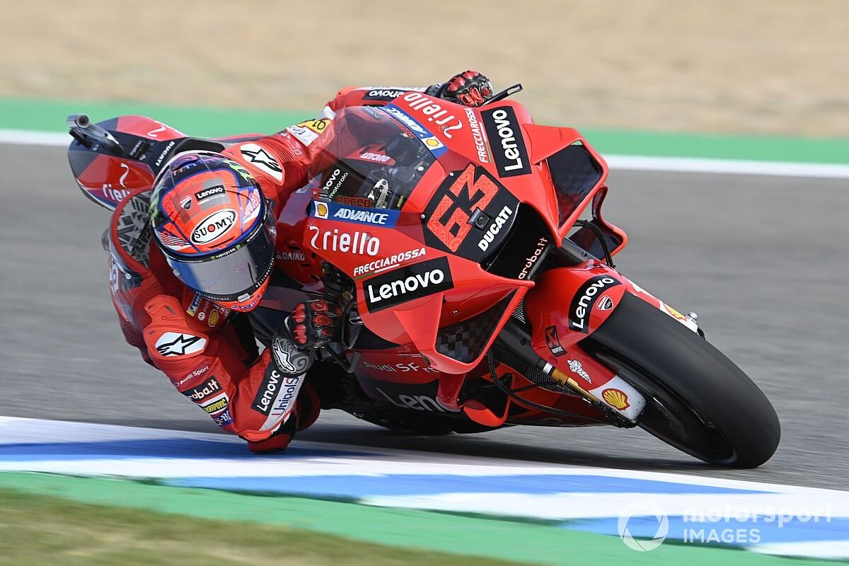 MOTO GP GRAND PRIX D'ESPAGNE 2021 Francesco-bagnaia-ducati-team-