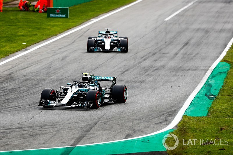 Bottas explains gap to Hamilton at Monza