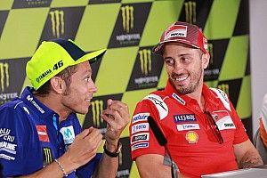 Rossi heureux que Dovizioso soit son dernier coéquipier