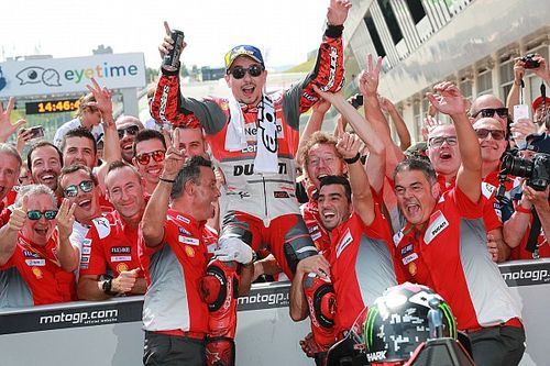 As imagens da terceira vitória seguida da Ducati na Áustria
