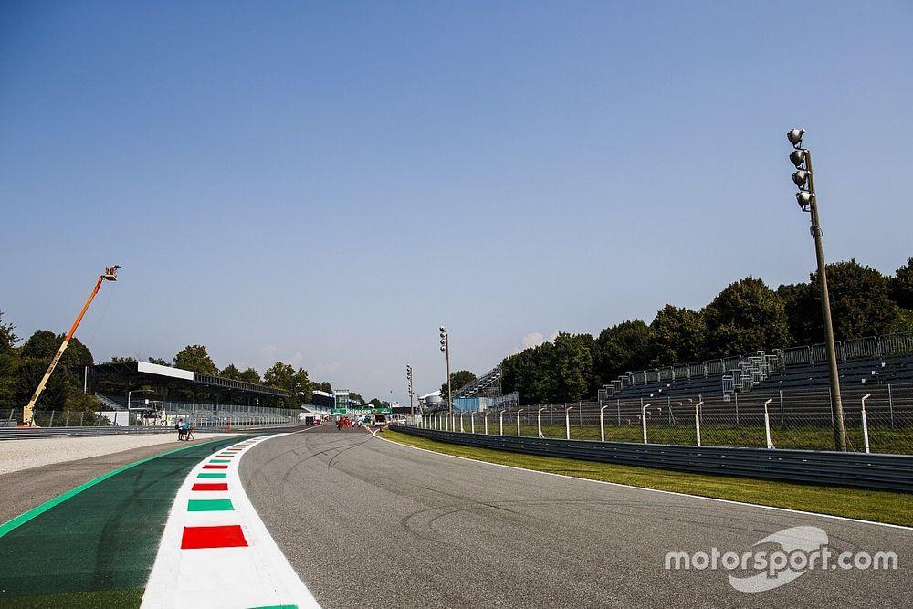 Monza'da takımları sıcak bir hava bekliyor