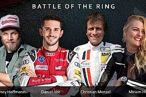 Battle of the Ring: Promi-Vierkampf auf ADAC SimRacing Expo
