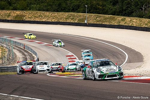 LIVE - Porsche Carrera Cup - Barcelone, Course 1