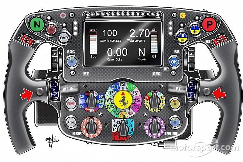 Ferrari: il pulsante segreto e il ghiaccio secco in pre griglia fanno discutere di nuovo