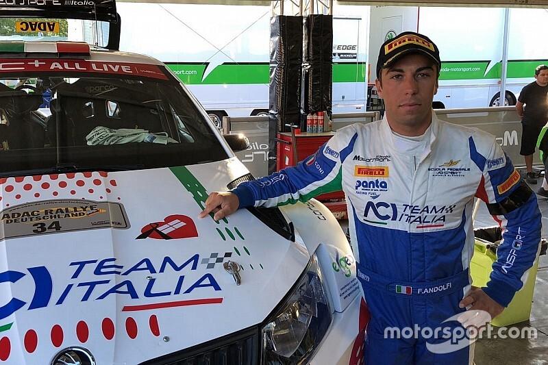 WRC: Fabio Andolfi si prepara per il Rally del Galles