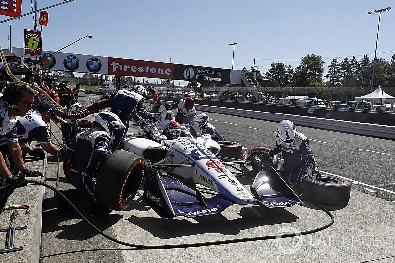 "Fittipaldi celebra primer top-10 en Indy: ""era el objetivo"""