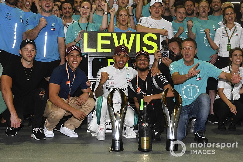 """Bogey circuit"" win among Mercedes' greatest - Wolff"