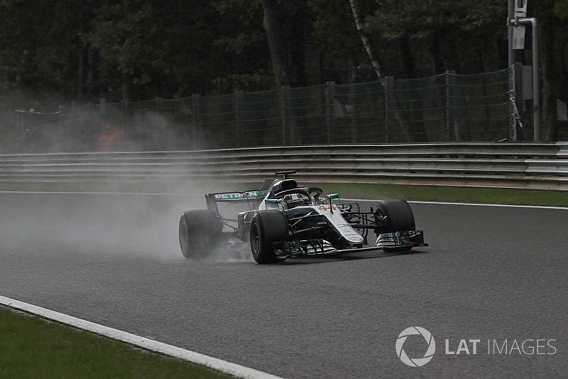 Hamilton: Yağmurda durdurulamaz değilim