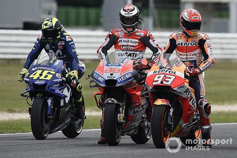 Rossi: Incidente entre Lorenzo e Márquez é prenúncio de 2019
