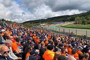 Weersverwachting voor de Grand Prix van België