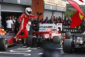 Vettel gana en Bélgica y Pérez logra el quinto sitio