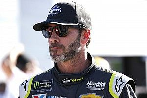 Jimmie Johnson packs supplies for Hurricane Florence victims