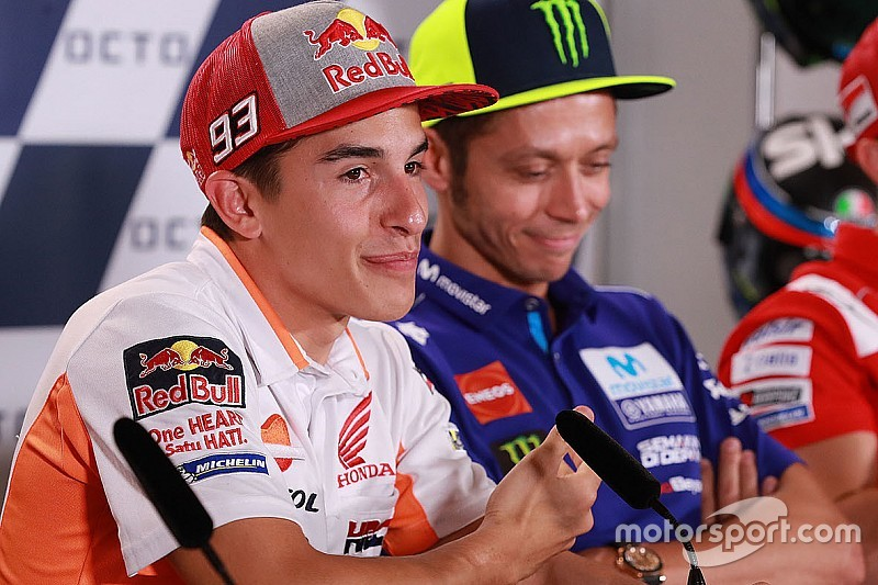 """Márquez: """"Me gustaría hacer las paces con Rossi"""""""