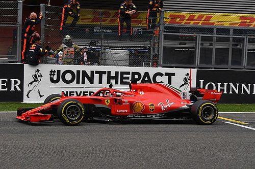 Így énekelt Vettel a Belga Nagydíjon (videó)