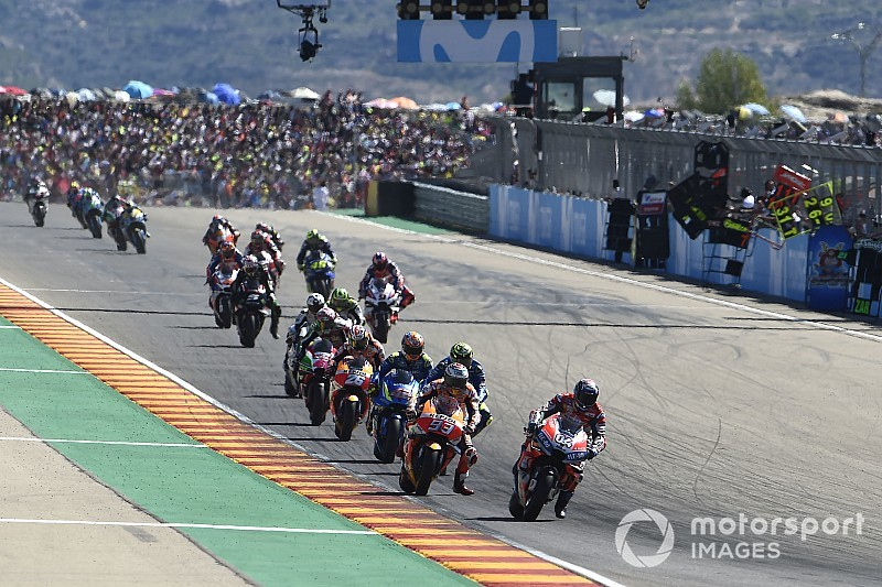 Aragon MotoGP race time shifted to avoid F1 clash
