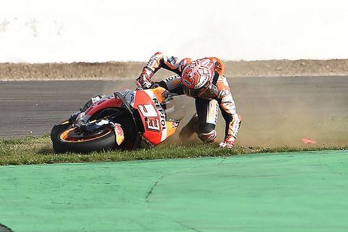 """Márquez: """"No quiero volver a ser el que más se cae durante la temporada"""""""