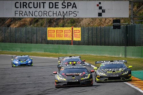 Lamborghini Super Trofeo Europa: a Spa doppietta del team Bonaldi Motorsport