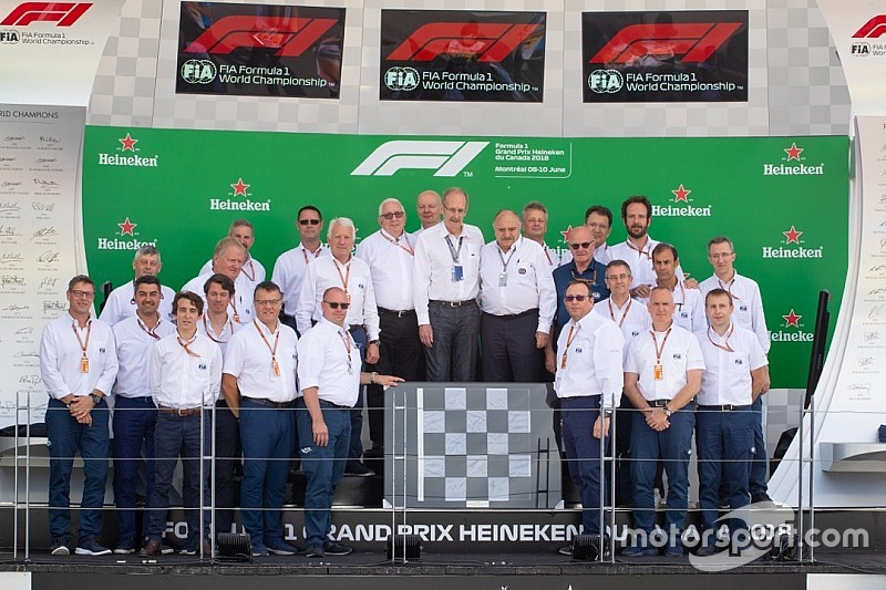 Canadian Roger Peart steps down from F1 race steward role