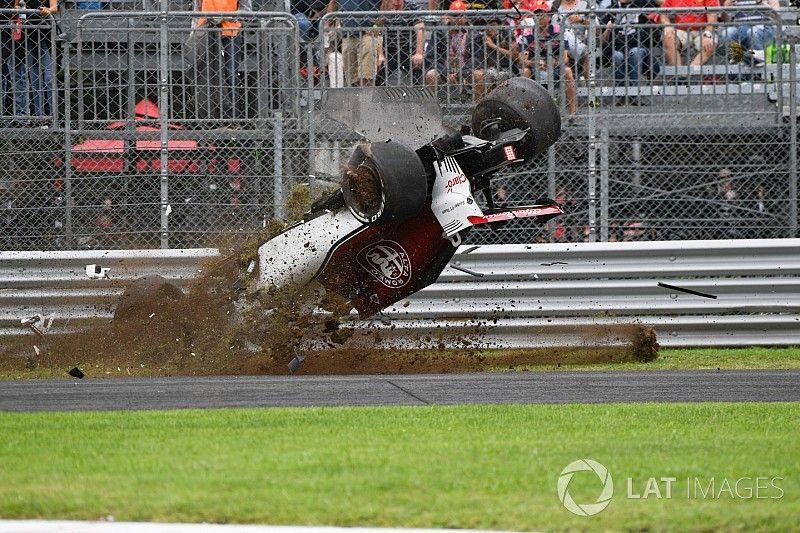 Ericsson estrena un nuevo chasis después de su choque en Monza