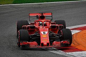 Vettel supera a Hamilton por poco antes de la clasificación en Italia