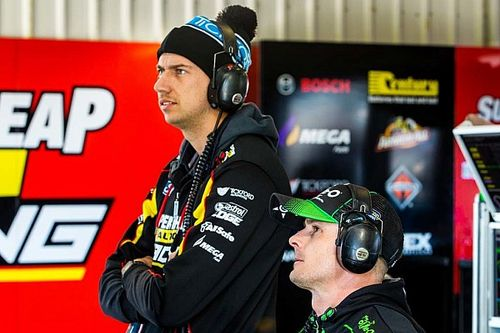 Mostert expected Winterbottom to retire at Tickford