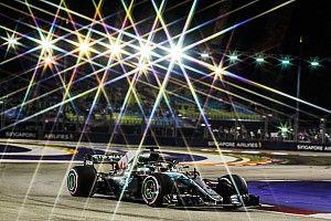 """GP Singapura: Lap """"sihir"""" antarkan Hamilton ke pole, Vettel ketiga"""