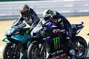 La grille de départ du Grand Prix MotoGP de Saint-Marin