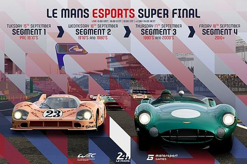 Le Mans Esport Series 2020 to conclude with epic week of races