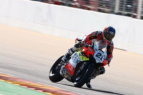 SBK, Aragon 3. antrenman: Rinaldi lider, Toprak 13. oldu