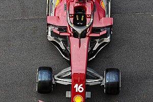 Ferrari'nin yeni renk düzeninden ilk pist üstü fotoğraflar ortaya çıktı
