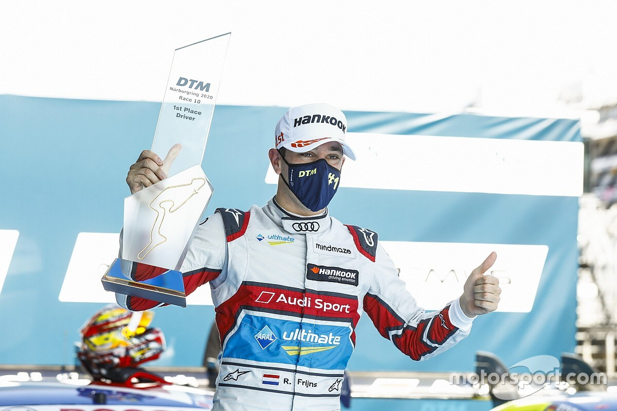 Nurburgring DTM: Frijns wins Race 2 as Muller slips to fifth