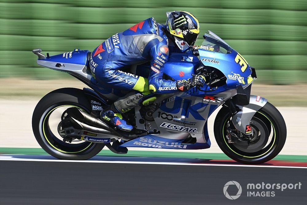Mir tras su podio en Misano: me daba igual que fuera Rossi