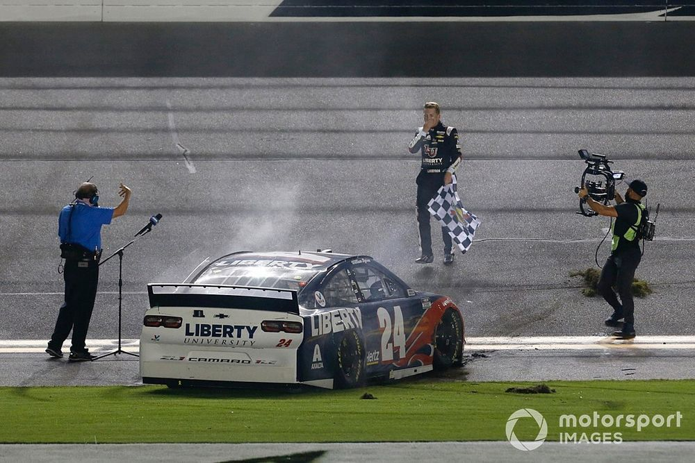 """William Byron: First Cup Series win was """"a long time coming"""""""