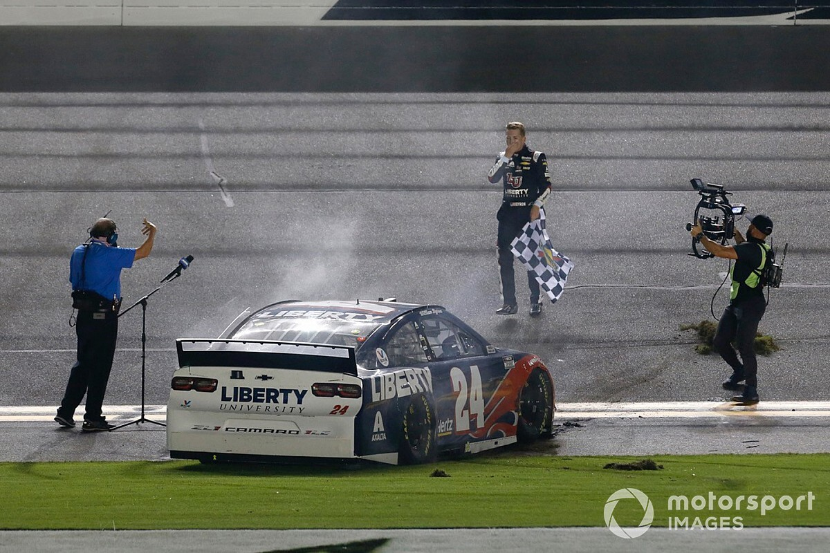 "William Byron: First Cup Series win was ""a long time coming"""