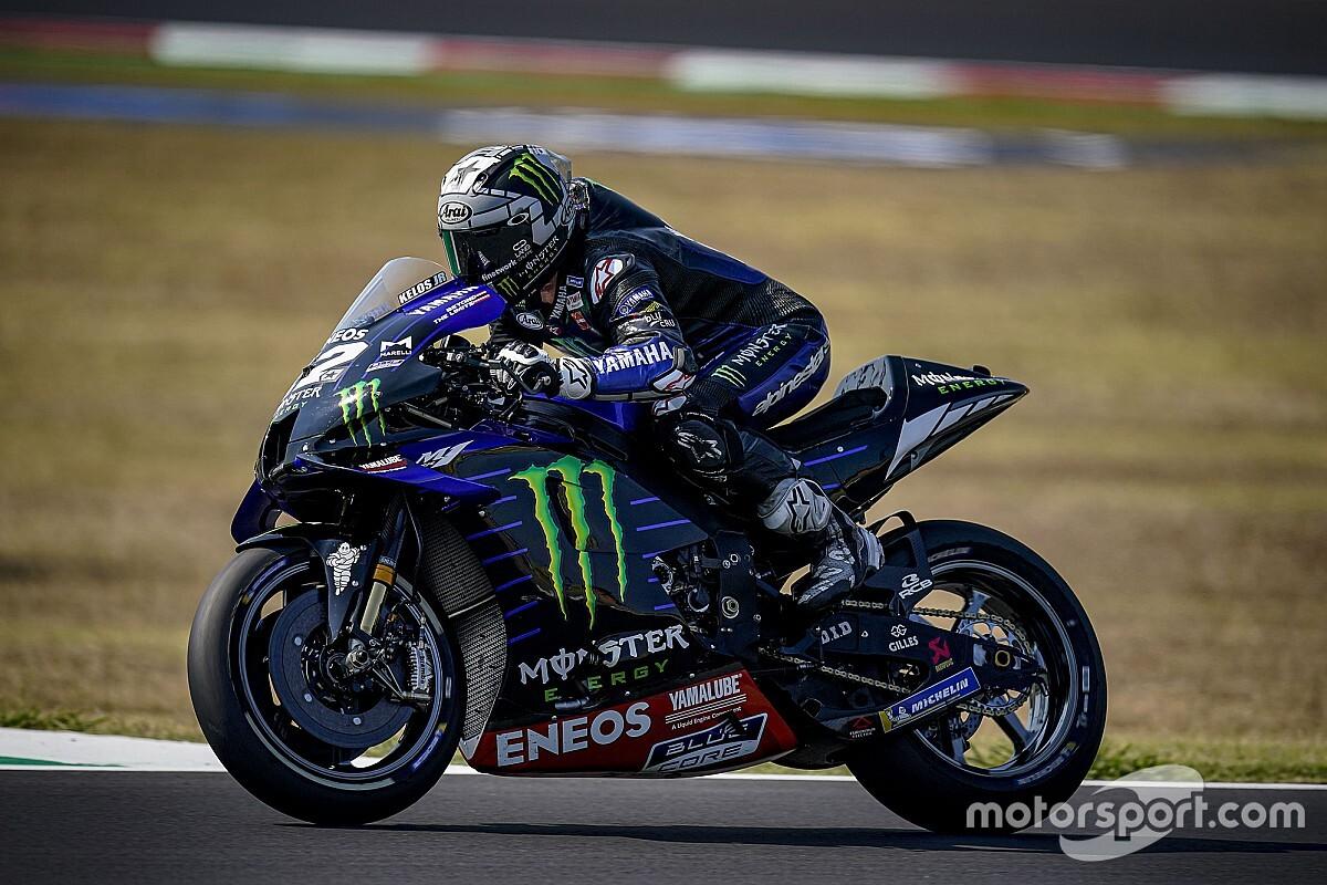 Vinales tops Misano MotoGP test, Morbidelli absent