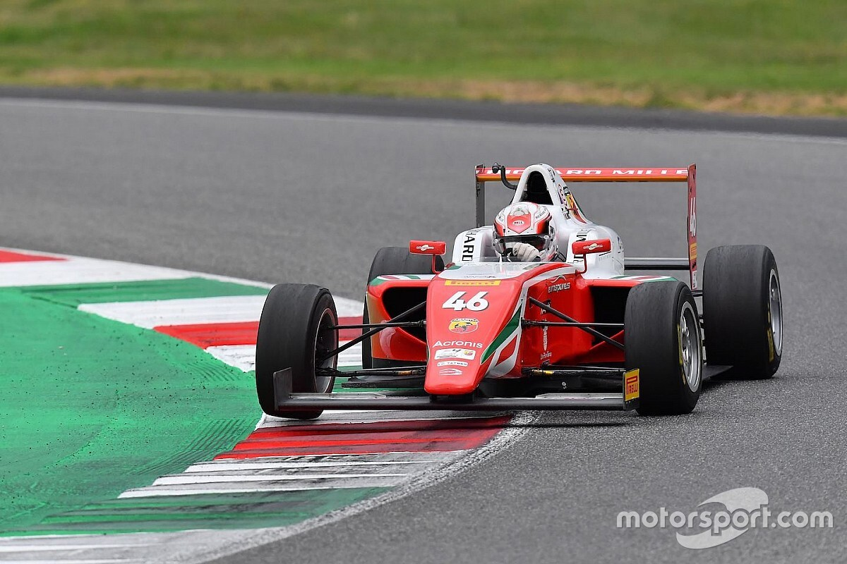 F4, Mugello, Gara 3: Minì domina e scappa in campionato