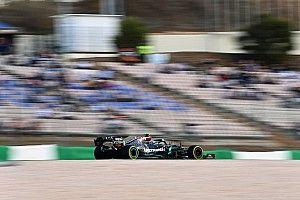 Caótica segunda sesión de libres en Portugal con Sainz 5º