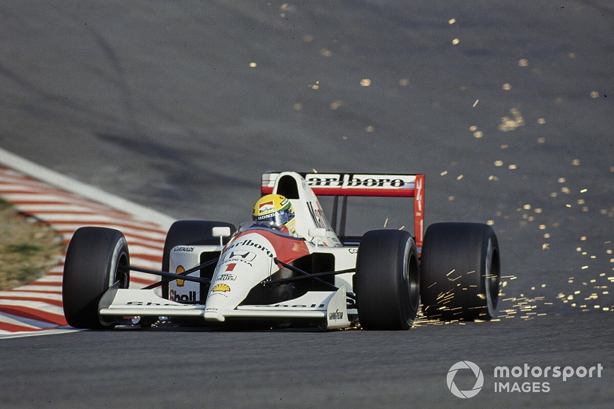 Why TV gives old F1 laps an illusion of speed