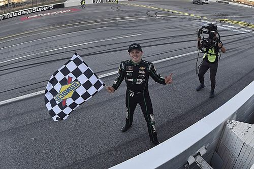 Justin Haley completes season-sweep of Talladega Xfinity races