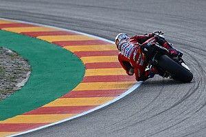Le nouveau pneu à l'origine de l'irrégularité? Ducati appuie Dovizioso
