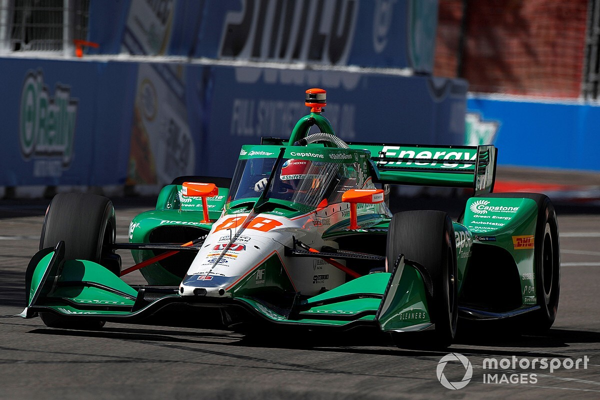 IndyCar St. Pete: Herta tops first practice, McLaughlin stars